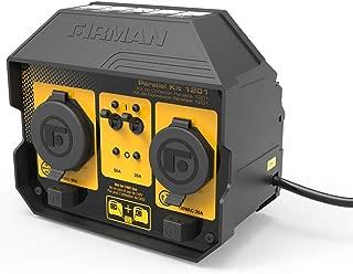 Firman 1201 50 Amp Parallel Kit for Inverter Generators, Black