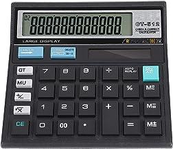 V BESTLIFE Solar Calculator, 12 Digit Solar Battery Charging Scientific Basic Desktop Electronic Calculator with Large LCD...