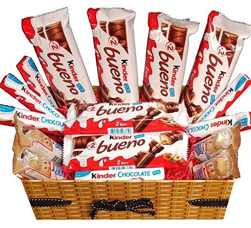 Caja De Regalo De Chocolate Kinder Bueno Happy Hippo Kinder Bar Caja De Selección De Variedades