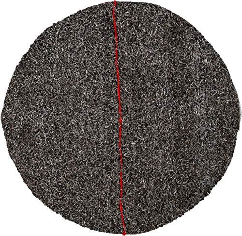 "DISCO CRISTALIZADOR LANA DE ACERO PREFABRICADOR cristalizar, pulir, limpiar (13""/33cm, Rojo)"