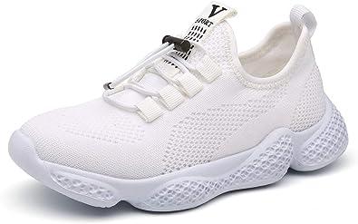 Scarpe Sportive Bambini Sneakers da Corsa Ragazzo Mesh Running Calzature Leggera Unisex