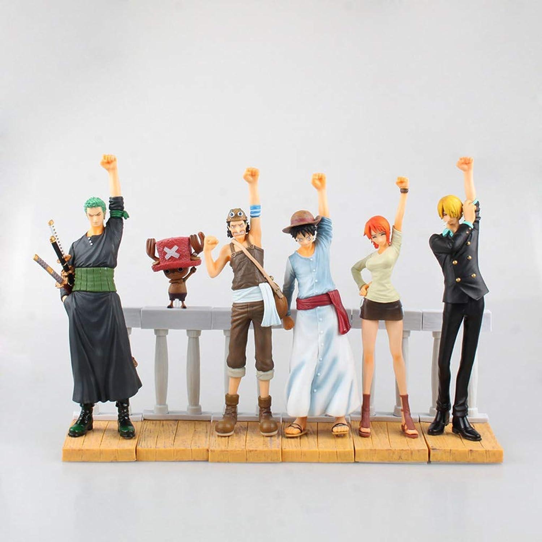 HBJP Spielzeug Statue Spielzeug Modell Exquisite Ornament Dekoration Handwerk   6 Piraten Kombination Modell