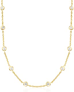 matching diamond necklace and earrings