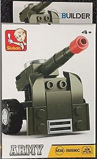 سلوبان لعبة قطع تركيب إطلاق صواريخ 38 قطعة  للاطفال