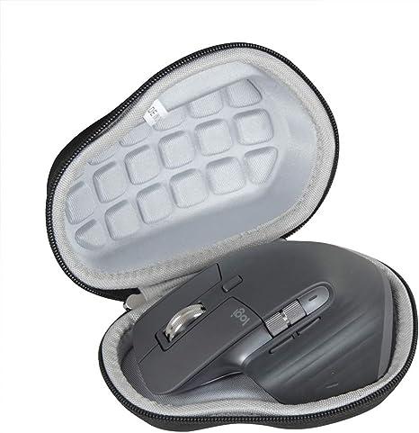 Hermitshell כיסוי שחור קשיח לנסיעות עבור Logitech MX Master - עכברים