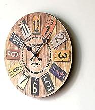 SKEIDO Wood Analog Clock - Wall Clocks