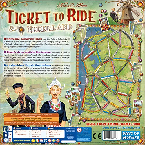 Ticket to Ride: Nederland Map Collection Four