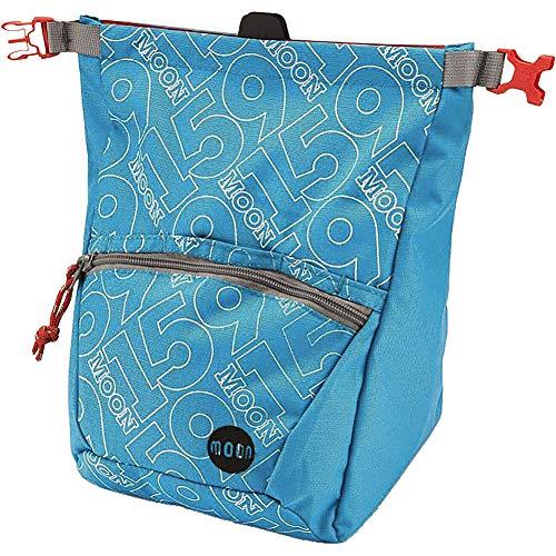 MOON Bouldering Chalk Bag, Blue Jewel