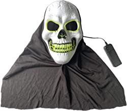 Halloween-decoraties gaasmasker LED-verlichting sc...