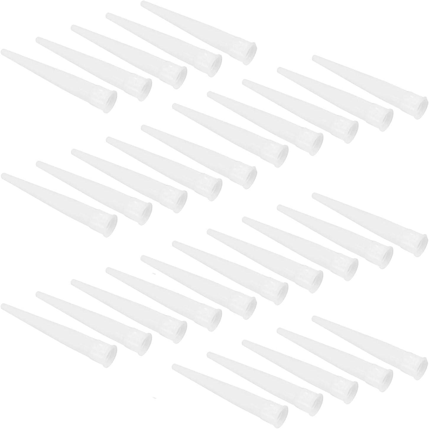 PPX 30 pezzi Boquillas silicona Boquillas Puntas de repuesto puntas de silicona cartucho Boquillas Puntas silicona Boquillas