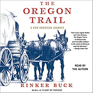 The Oregon Trail audiobook cover art