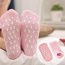 Jini Collection Vivnits Silicone Gel Moisturizing Ultra-Soft Spa Socks
