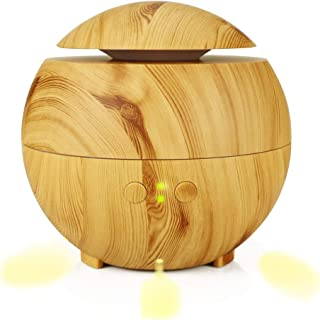 XINYAN JIA Wood Grain Aromatherapy Machine Humidifier Essential Oil Diffuser Atomizer Indoor Air Humidifier,B