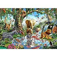 動物園-1000ピースのパズル、子供と大人のための大きなジグソーパズルゲーム、すべての年齢の誕生日プレゼントに最適なクリスマスの選択