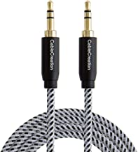 3.5mm Aux Cable, CableCreation 6-Feet Aux Cord, 3.5mm Male to Male Stereo Audio Cable [HiFi Sound, Nylon Braided] Compatible Headphone, Smartphone, 2018 Mac Mini, Home/Car Stereo, Echo & More, 1.8M