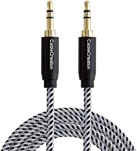 3.5mm Aux Cable, CableCreation 6-Feet Aux Cord, 3.5mm Male to Male Stereo Auxiliary Audio Cable, Compatible with Headphones, Smartphones, 2018 Mac Mini, Home/Car Stereos & More, 1.8M