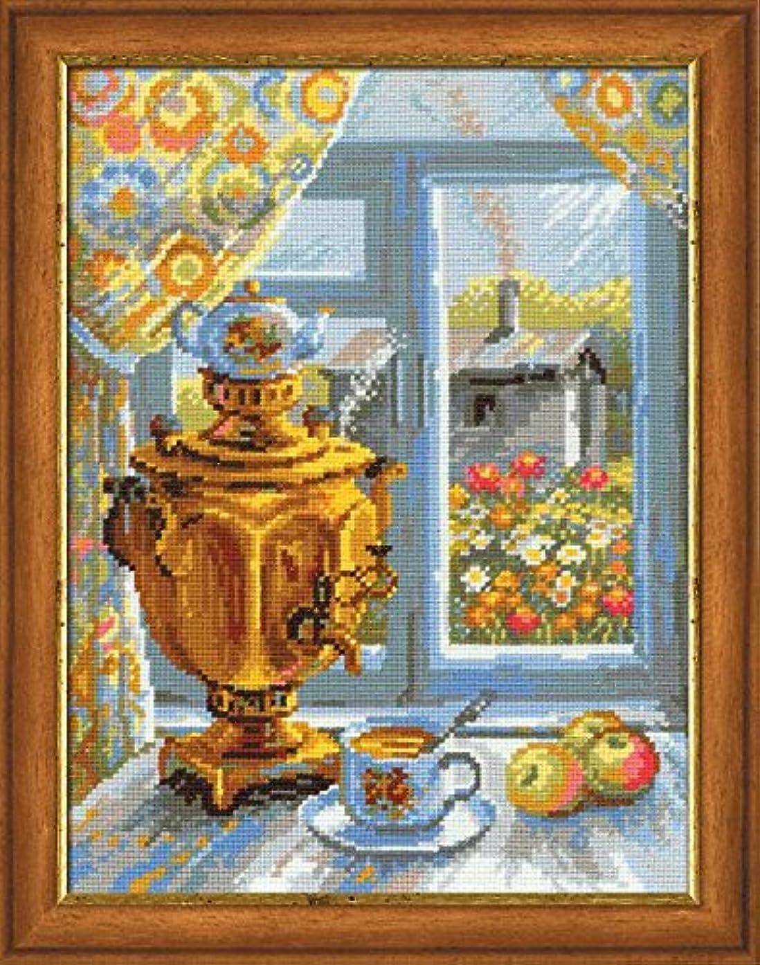 Riolis -Samovar- Cross Stitch Kit art.1145