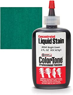 ColorTone Liquid Stain for Stringed Instruments, Bright Green