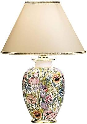 Austrolux 0014.73 Ceramic Table Lamp, 100 Watts, E27, Diameter 30 cm, Height 43 cm