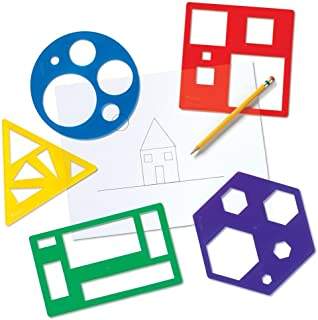 Learning Resources Primary Shapes Template Set