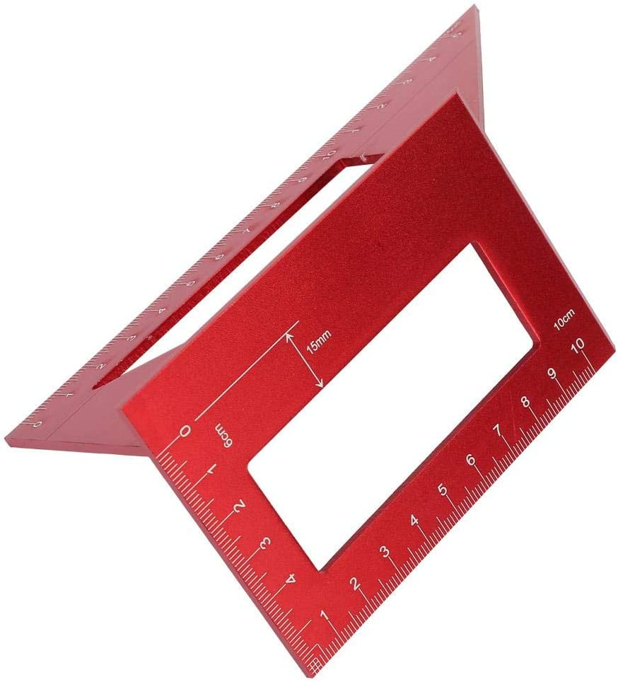 Akozon Woodworking Angle Ruler 45 90 Store Layout Degree A Gauge overseas Miter