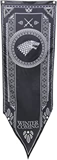 """Calhoun Game of Thrones House Sigil Tournament Banner (19"""" by 60"""") (House Stark)"""