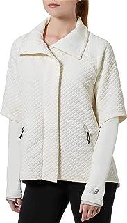 New Balance Women's Heat Loft Intensity Jacket (XL, Ivory)