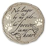 Cat or Dog Grave Marker or Garden Memorial Stone. Thoughtful Pet Loss Sympathy Gift. Waterproof and Weatherproof, Can Be Used Inside Or Out, in Memory of Dog or Cat