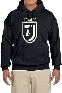 Tobin Clothing Black Ronaldo 7 Hooded Sweatshirt