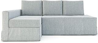 comprar comparacion Funda para sofá cama de 3 plazas de poliéster SC para sofá cama de 3 plazas IKEA Friheten y funda de sofá seccional (funda...