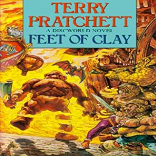 Feet of Clay                   By:                                                                                                                                 Terry Pratchett                               Narrated by:                                                                                                                                 Nigel Planer                      Length: 9 hrs and 32 mins     3,059 ratings     Overall 4.8