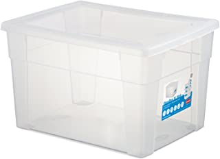Stefanplast Visual Box Housse Universel, Transparent, XL/39 x 29 x 24 cm
