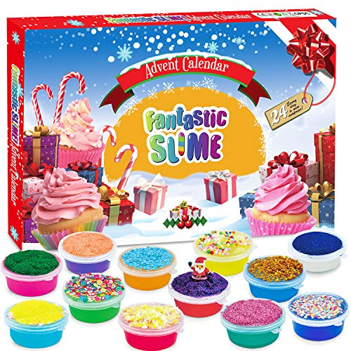 Wesimplelife Adventskalender 2020 Weihnachten Countdown Spielzeug für Kinder Weihnachtskalender für Mädchen...