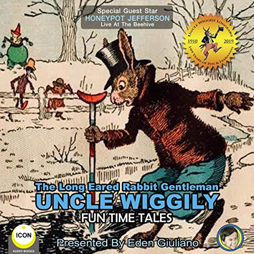 The Long Eared Rabbit Gentleman Uncle Wiggily - Fun Time Tales cover art