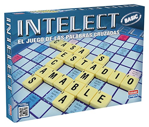 Falomir-Intelect Intelec Basic. Juego de Mesa. Family & Friends, Multicolor (646466)