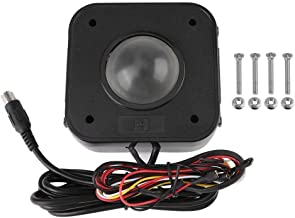 SPARIK ENJOY Arcade Trackball Mouse,4.5cm Lighted Illuminated Round LED Trackball Mouse PS/2 PCB Connector for Arcade