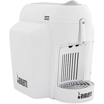 Bialetti Mini Express CF62 Independiente Totalmente automática Máquina de café en cápsulas 0.7L 1tazas Blanco - Cafetera (Independiente, Máquina de café en cápsulas, 0,7 L, Cápsula de café, Blanco): Amazon.es: Hogar