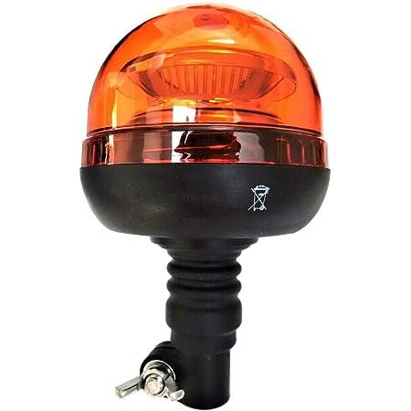 Orange Weiß 18 Led Rundumleuchte 3 Blitzmuster 12v 24v Ece R65 R10 Warnleuchte Auto