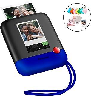 Polaroid Pop 2.0 Cámara digital de impresión instantánea (Azul) 20 Mp Pantalla Táctil de 397 In Wi-Fi incorporado Tecnología Zink Zero Ink y nueva aplicación fotografías de 9 x 11 cm