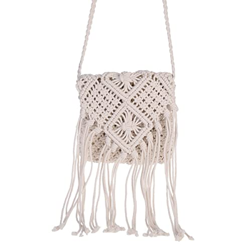 01231fd51b6f6 Macrame Bag: Amazon.com