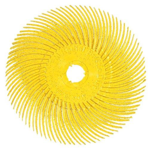 3M Radial Bristle Disc Radial Borsten Scheibe gelb 75mm/K-80/(10er Pack)