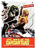 Posterazzi The War Of The Gargantuas (Aka Furankenshutain No Kaiju: Sanda Tai Gaira) Japanese Art 1966 Movie Masterprint Poster Print, (11 x 17)