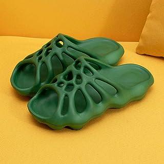 ZUOX Couples Chaussures de Plage décontractées,Fond épais, Augmentation de la traînée intérieure, Sandales antidérapantes ...