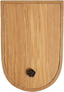 CUHAWUDBA Gold Ohrringst/änder Ohrsteckerhalter Holz Ohrringhalter Schmuckst/änder Schmuckst/änder Display mit Tablett f/ür Ohrringe Armb/änder 40 L/öcher Halsketten Ringe