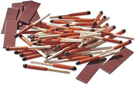 UCO Survival Waterproof Fire Starter Matches, 100 Pieces