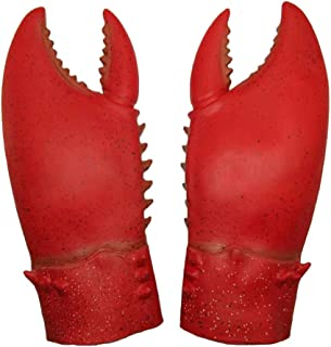 Latex Giant Crab Claws Cosplay Amor Golves Novelty Toy Costume Props Halloween Christmas