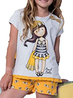 SANTORO LONDON - Pijama Gorjuss Santoro niña Amarillo Mostaza Niñas Color: Mostaza Talla: 14