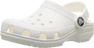 Crocs Kids' Classic Clog, White, 3 M US Little Kid