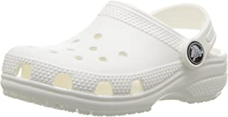 Crocs Kids' Classic Clog, White, 5 M US Toddler