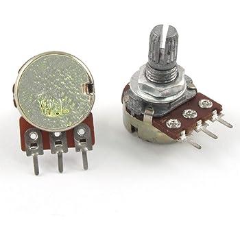 Linear Logarithmic 24mm Mono Potentiometer Pot 1K to 1M